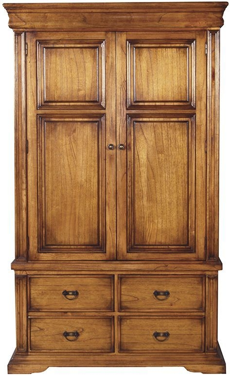 Vida Living Valentino Oak Wardrobe - 2 Door 4 Drawer