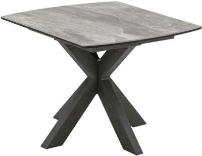 Vida Living Valerius Grey Lamp Table