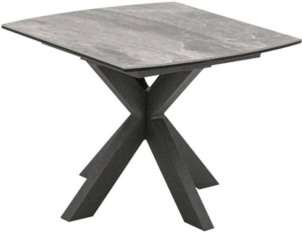 Vida Living Valerius Lamp Table - Grey