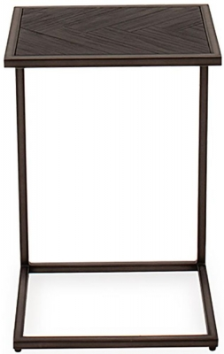 Vida Living Vanya Acacia Dark Drinks Table
