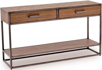 Vida Living Vanya Light Brown Console Table