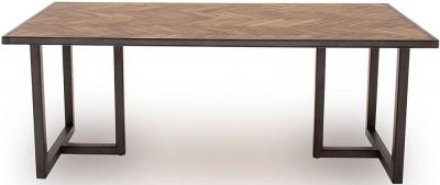 Vida Living Vanya 160cm Acacia Light Dining Table