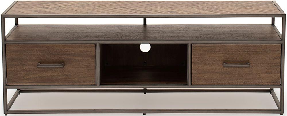 Vida Living Vanya Acacia Light TV Cabinet