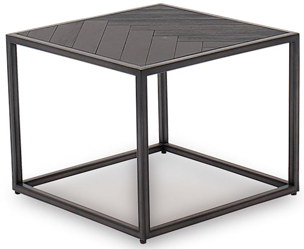 Vida Living Vanya Acacia Dark End Table