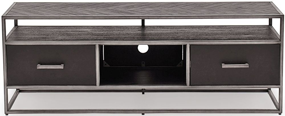 Vida Living Vanya Dark Brown TV Cabinet