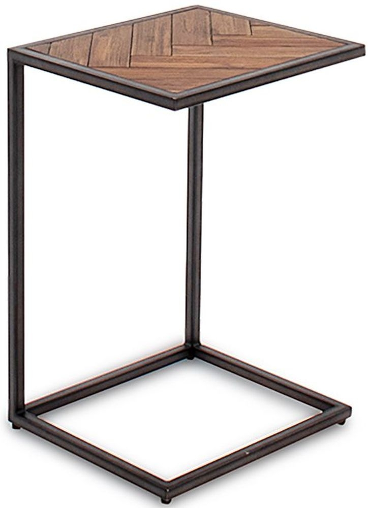 Vida Living Vanya Light Brown Drinks Table