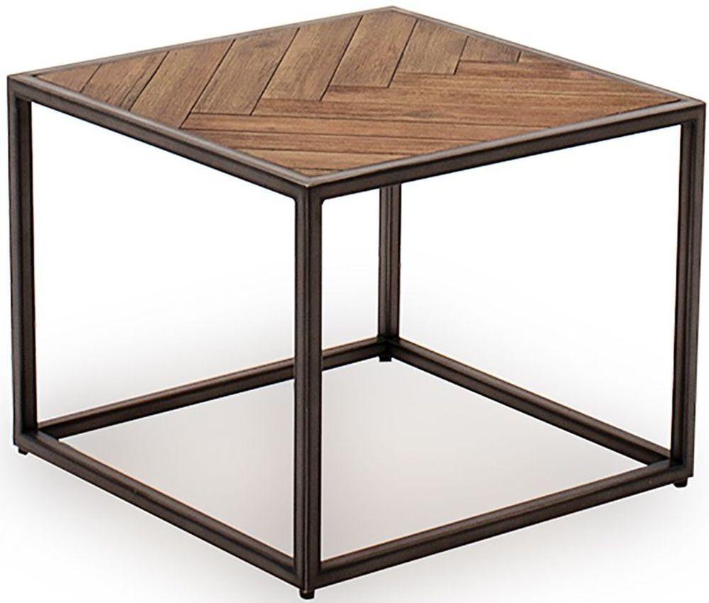 Vida Living Vanya Light Brown End Table