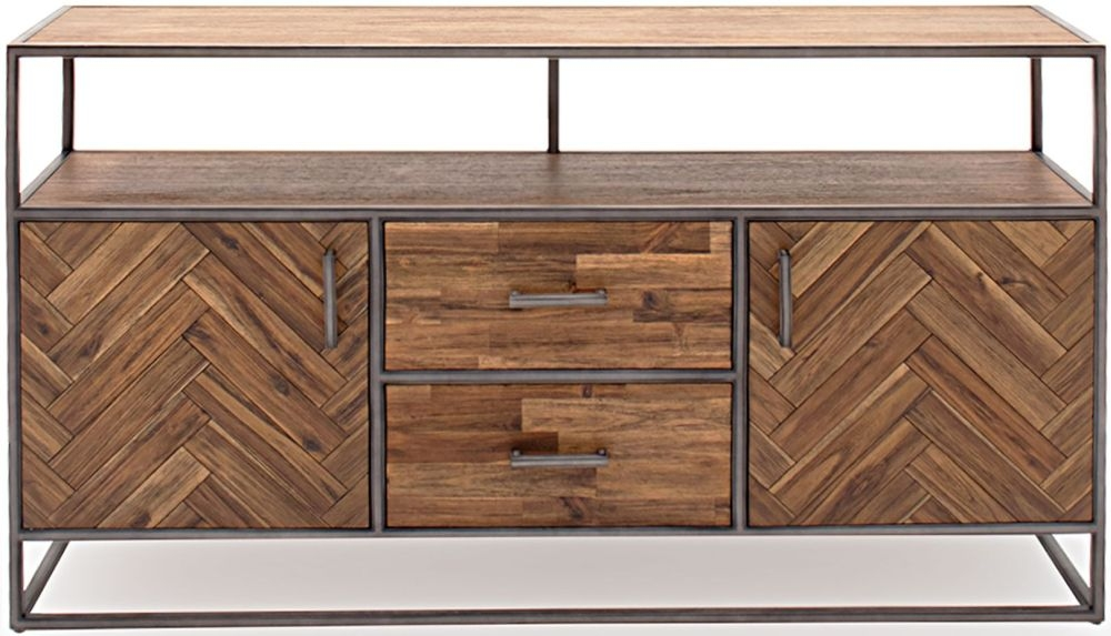 Vida Living Vanya Light Brown Large Sideboard