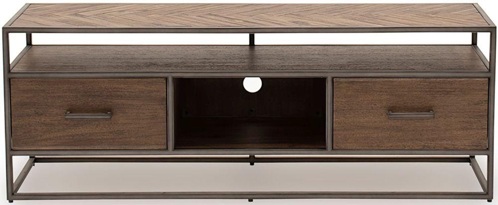 Vida Living Vanya Light Brown TV Cabinet