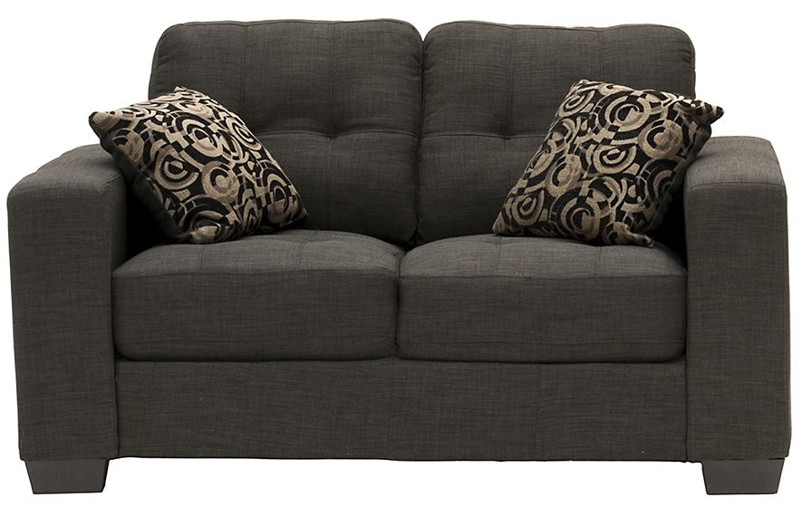 Vida Living Vivaldi Grey Fabric 2 Seater Sofa