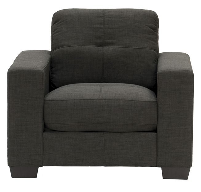 Vida Living Vivaldi Grey Fabric Armchair