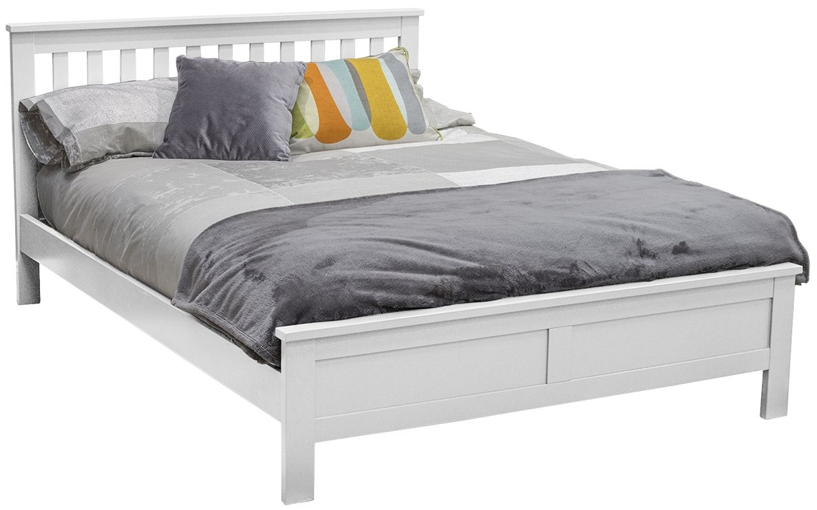Vida Living Willow White Bed