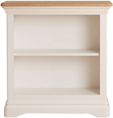 Vida Living Winchester Silver Birch Painted Low Bookcase
