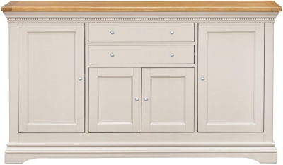 Vida Living Winchester Sideboard - Oak and Silver Birch