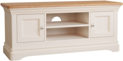 Vida Living Winchester TV Unit - Oak and Silver Birch