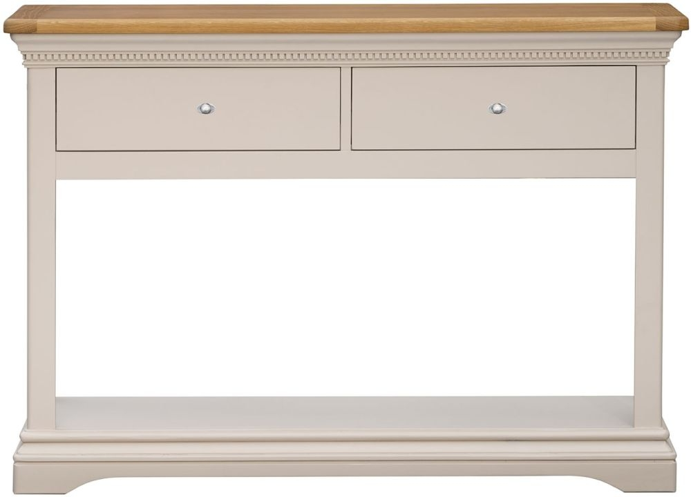 Vida Living Winchester Silver Birch Painted Console Table