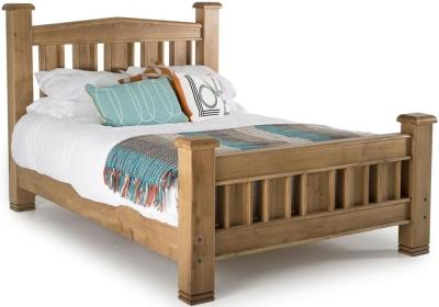 Vida Living York Oak Bed