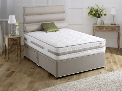 Vogue Airstream Bliss 1500 Pocket Springs Fabric Divan Bed