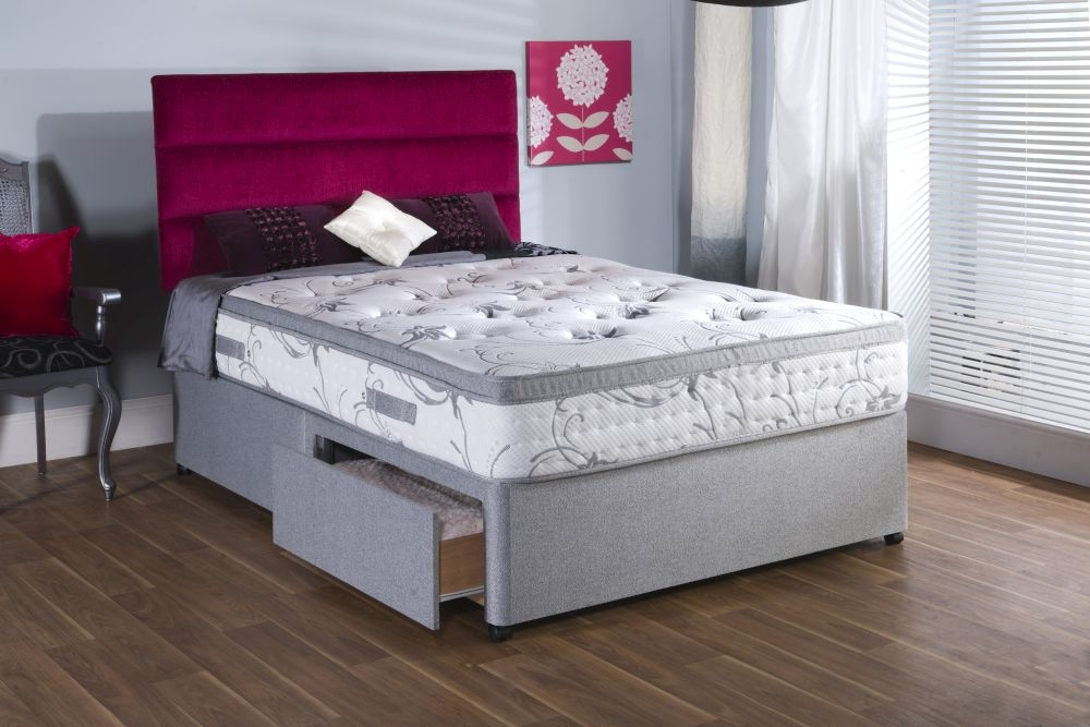Vogue Backcare Cape Star Fabric Divan Bed