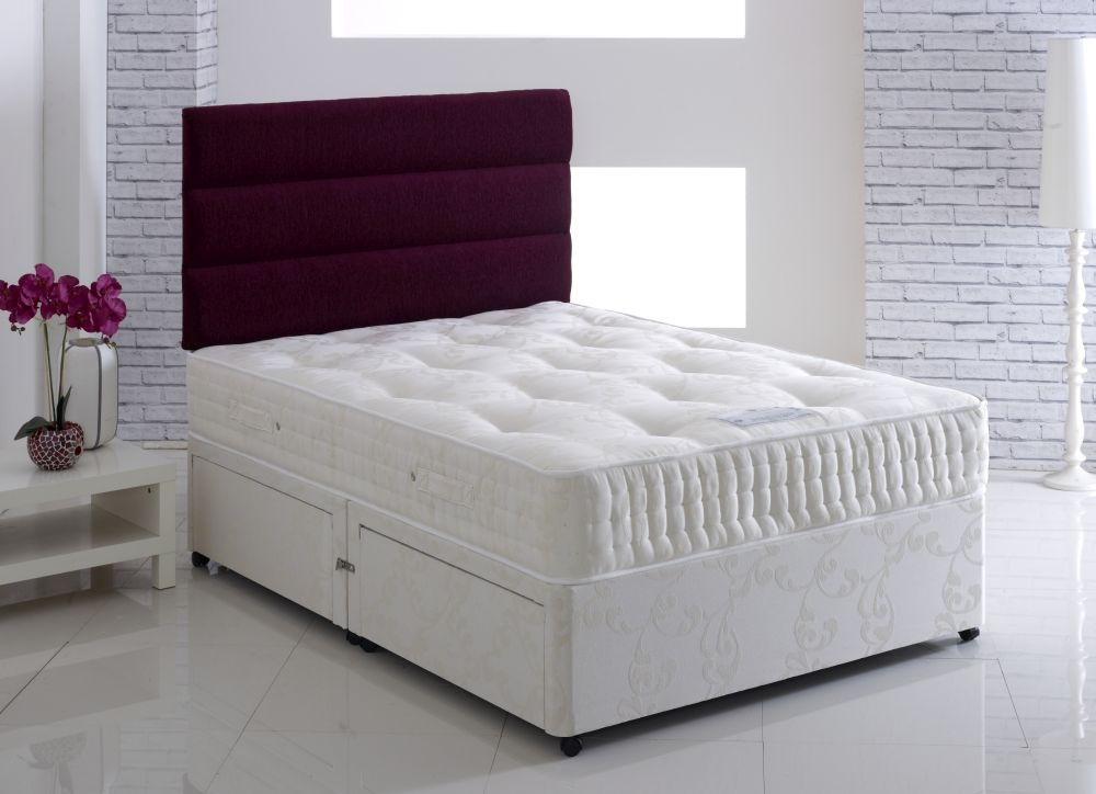 Vogue Backcare Sterling Star Fabric Divan Bed