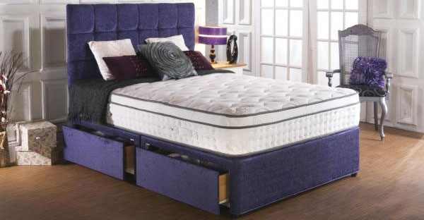 Vogue Blu Cool Memory Foam Divan Beds