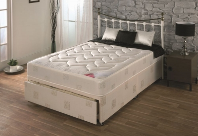 Vogue Comfort Milan Fabric Divan Bed