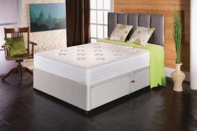 Vogue Comfort Regency Fabric Divan Bed