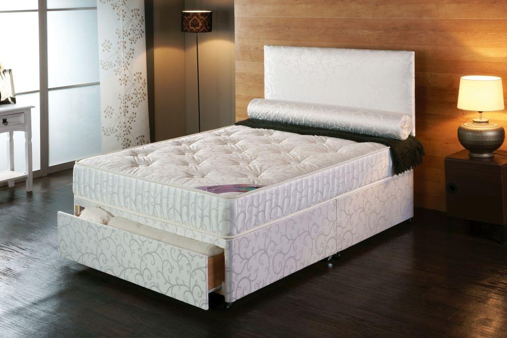 Vogue Comfort Celina Fabric Divan Bed