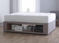 Vogue New Maxi Storage Fabric Divan Bed Base
