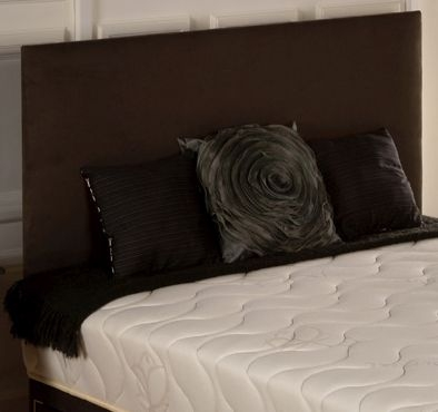 Vogue Classic Slate Suede Fabric Headboard