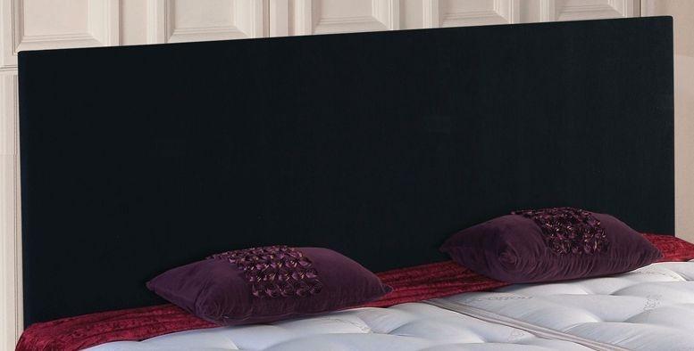 Vogue Classic Black Damask Fabric Headboard