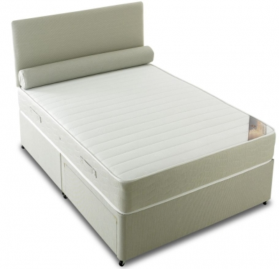 Vogue Orthopaedic Latex Star Fabric Divan Bed