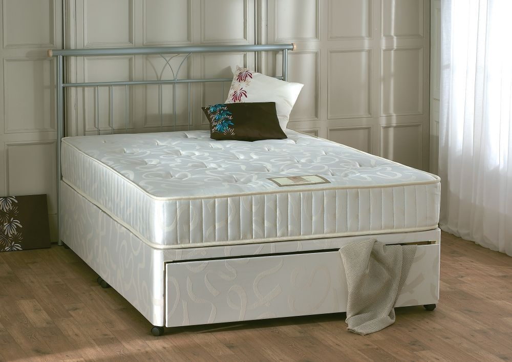 Vogue Orthopaedic Enigma Platform Top Fabric Divan Bed