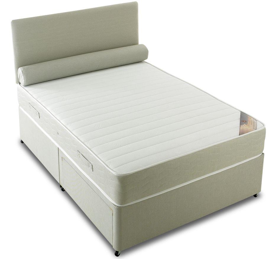 Vogue Orthopaedic Latex Star Fabric Divan Bed