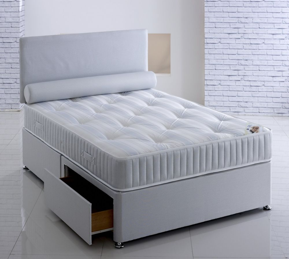 Vogue Orthopaedic Majestyk Platform Top Fabric Divan Bed