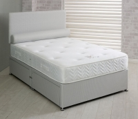 Vogue Splendour 1500 Pocket Spring Platform Top Fabric Divan Bed