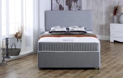 Vogue Gel Feel Relax Pocket Spring Platform Top Fabric Divan Bed