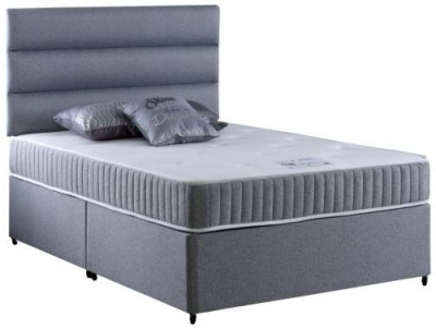 Vogue Memory Relax Pocket Spring Platform Top Fabric Divan Bed