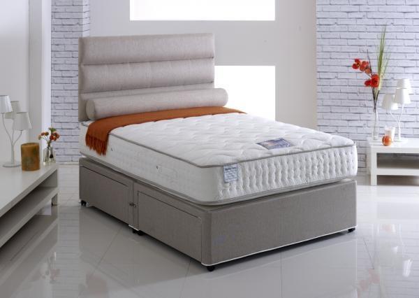 Vogue Talalay Emperor Latex 1500 Pocket Spring Platform Top Divan Bed