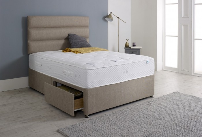 Vogue Touch Helix Ortho Revive Encapsulated Fabric Divan Bed