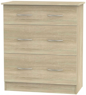 Avon Bardolino 3 Drawer Deep Chest