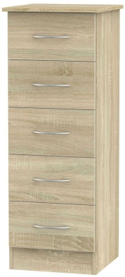 Avon Bardolino Chest of Drawer - 5 Drawer Locker