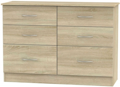 Avon Bardolino 6 Drawer Midi Chest