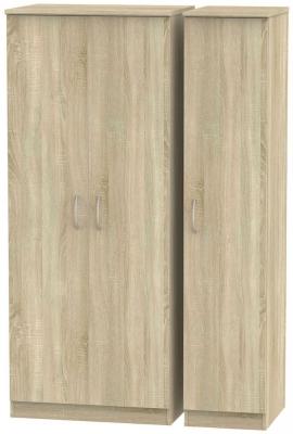 Avon Bardolino 3 Door Wardrobe