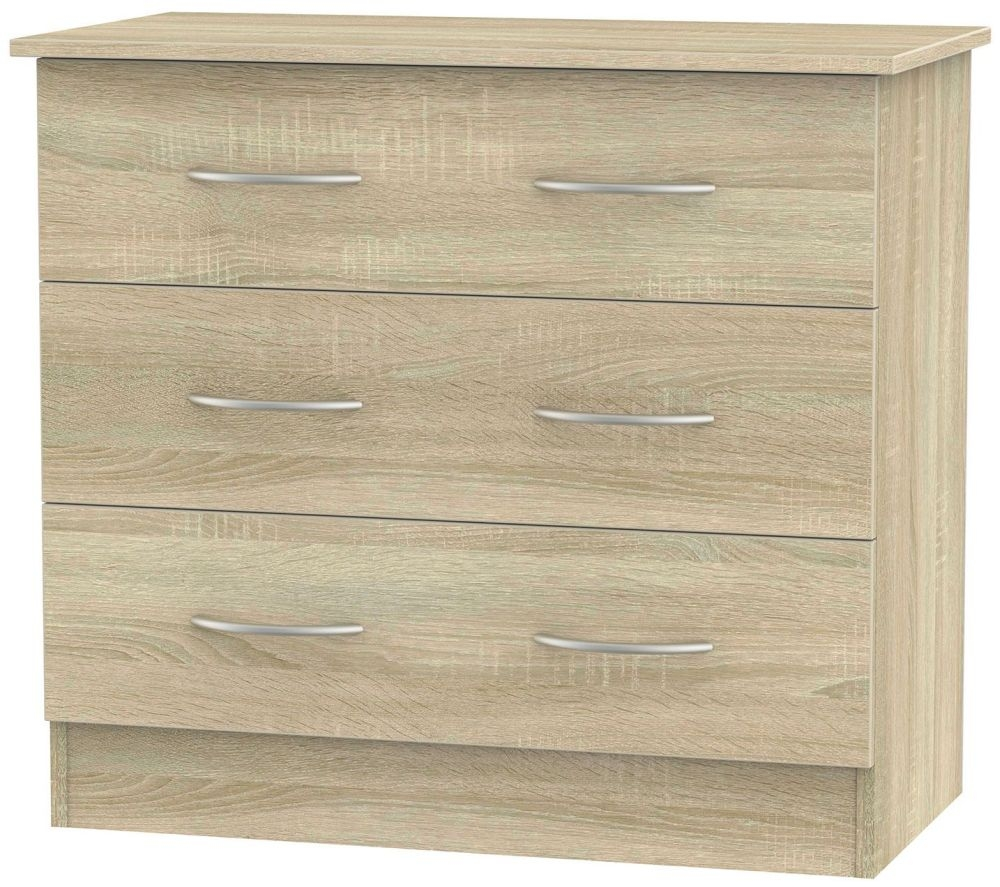 Avon Bardolino 3 Drawer Chest