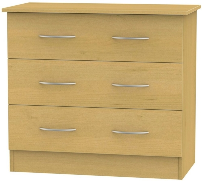 Avon Beech Chest of Drawer - 3 Drawer