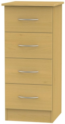 Avon Beech Chest of Drawer - 4 Drawer Locker
