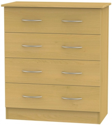 Avon Beech Chest of Drawer - 4 Drawer