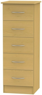Avon Beech Chest of Drawer - 5 Drawer Locker