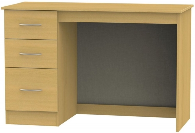 Avon Beech Desk - 3 Drawer